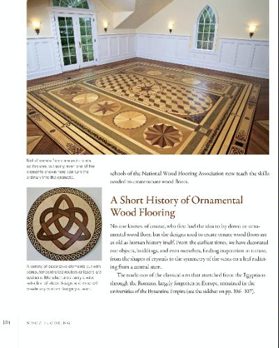 HISTORY OF ORNAMENTAL FLOORING