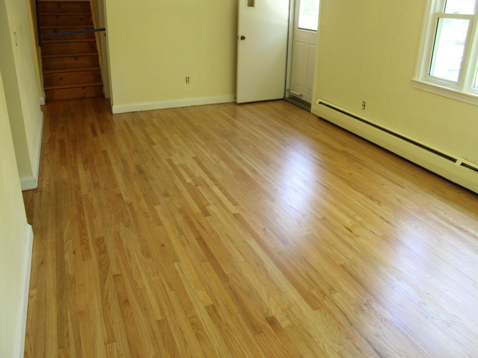 Living floor worn after