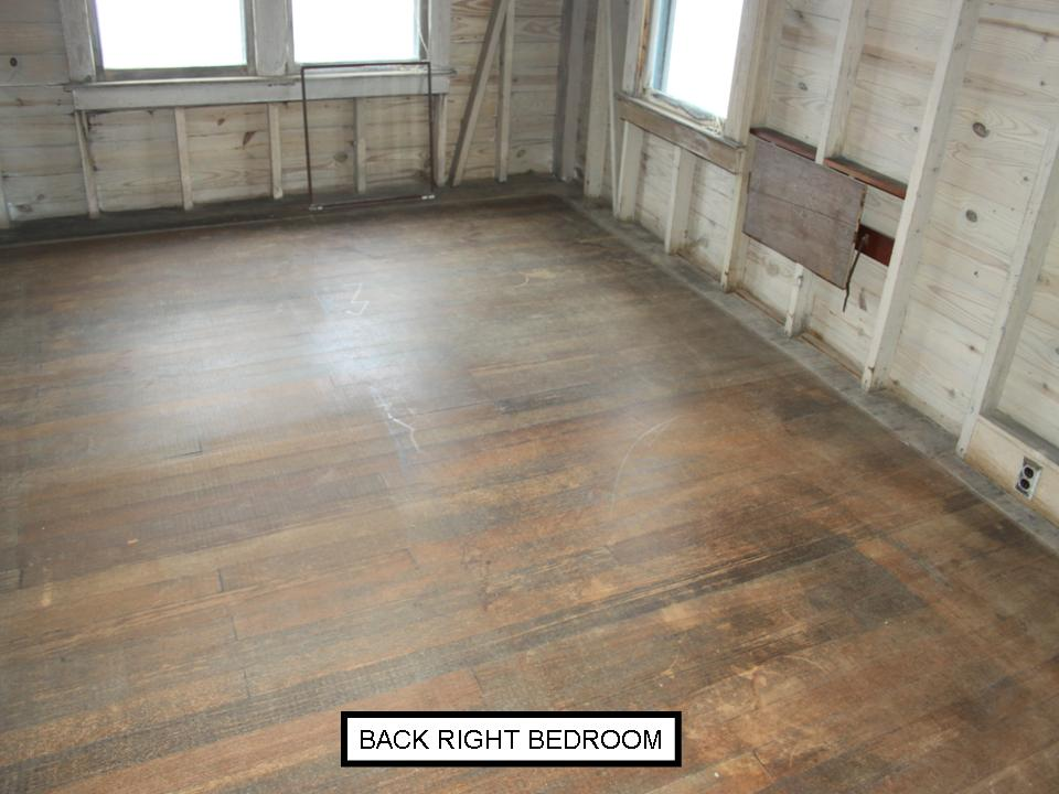 Fir bedoom floor before