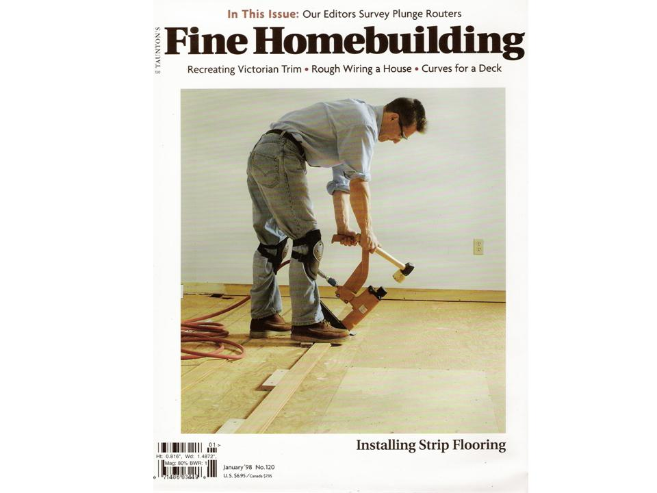 Fine HOME Building Installing Strip Flooring