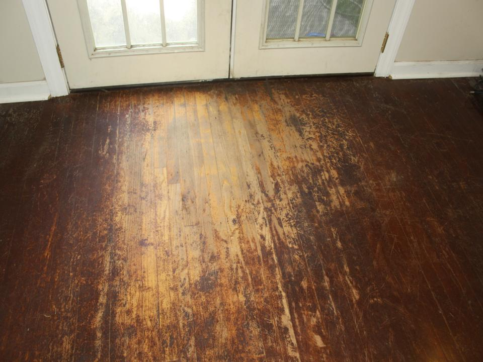 Before after no one else comes close to my work for Hardwood flooring nearby