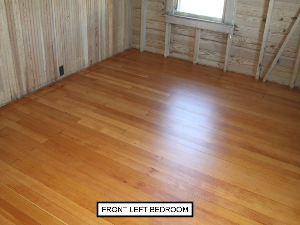 Fir bedroom after