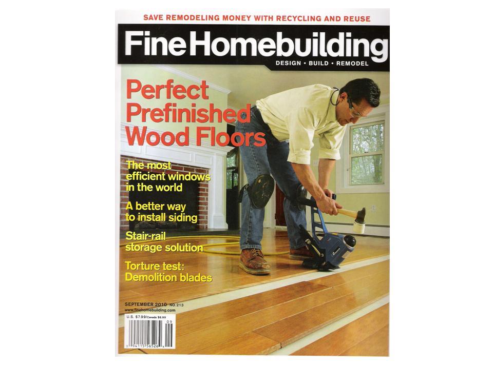 Fine Homebuilding Distinctive Wood Floors By Charles