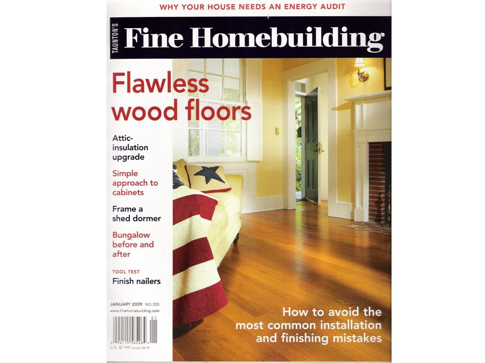 Fine Homebuilding Flawless Wood Floors