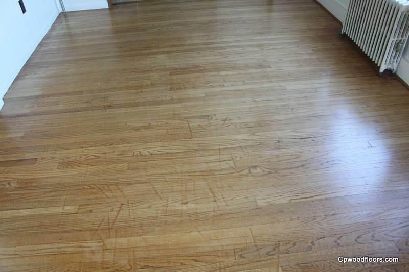 WOOD FLOOR SANDING DRUM MARK DAMAGE