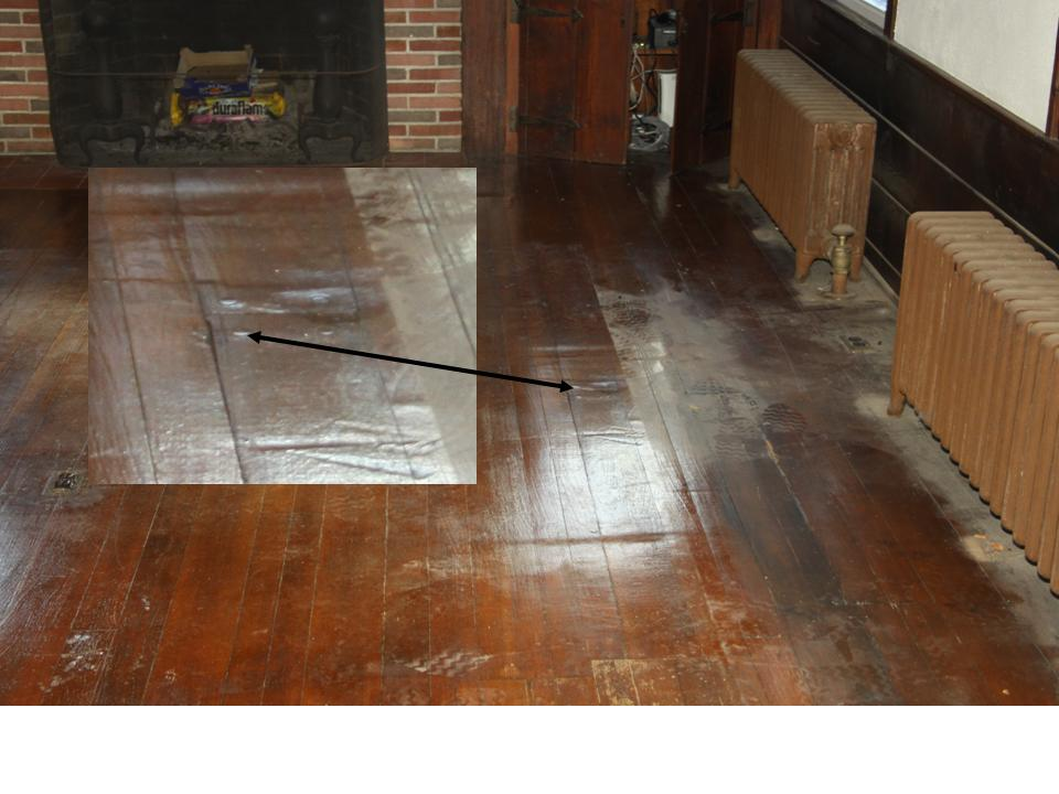 fir floor drum sander and edger damage