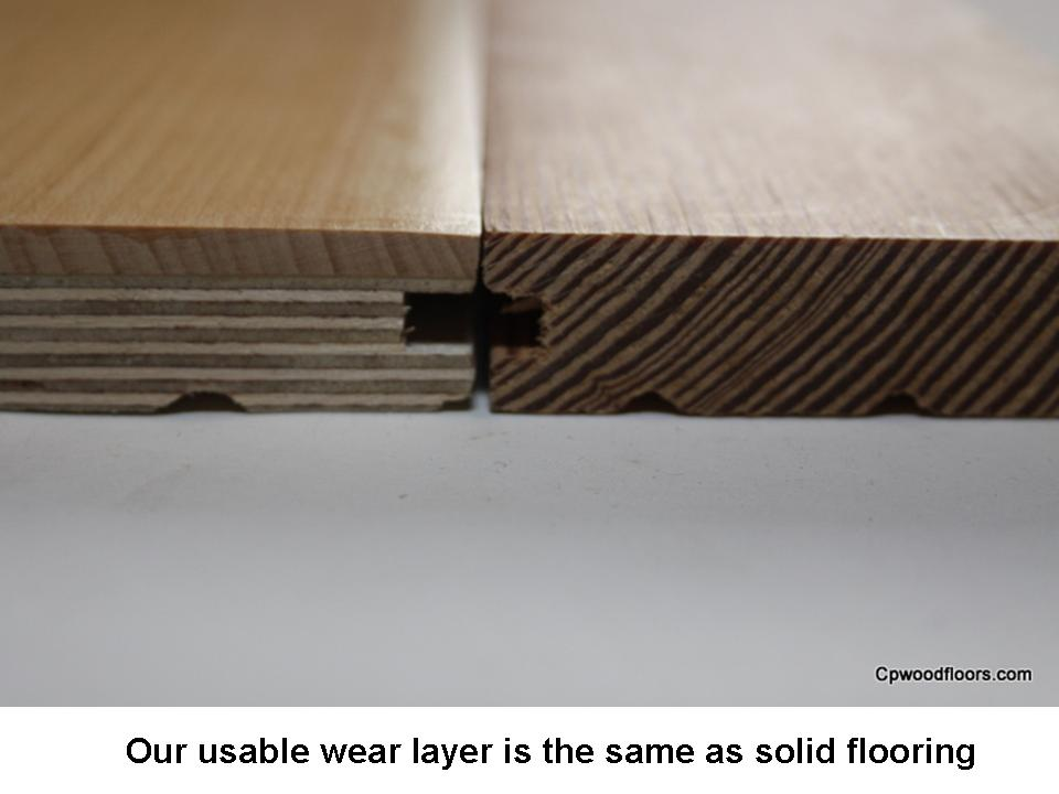 Engineered wear layer