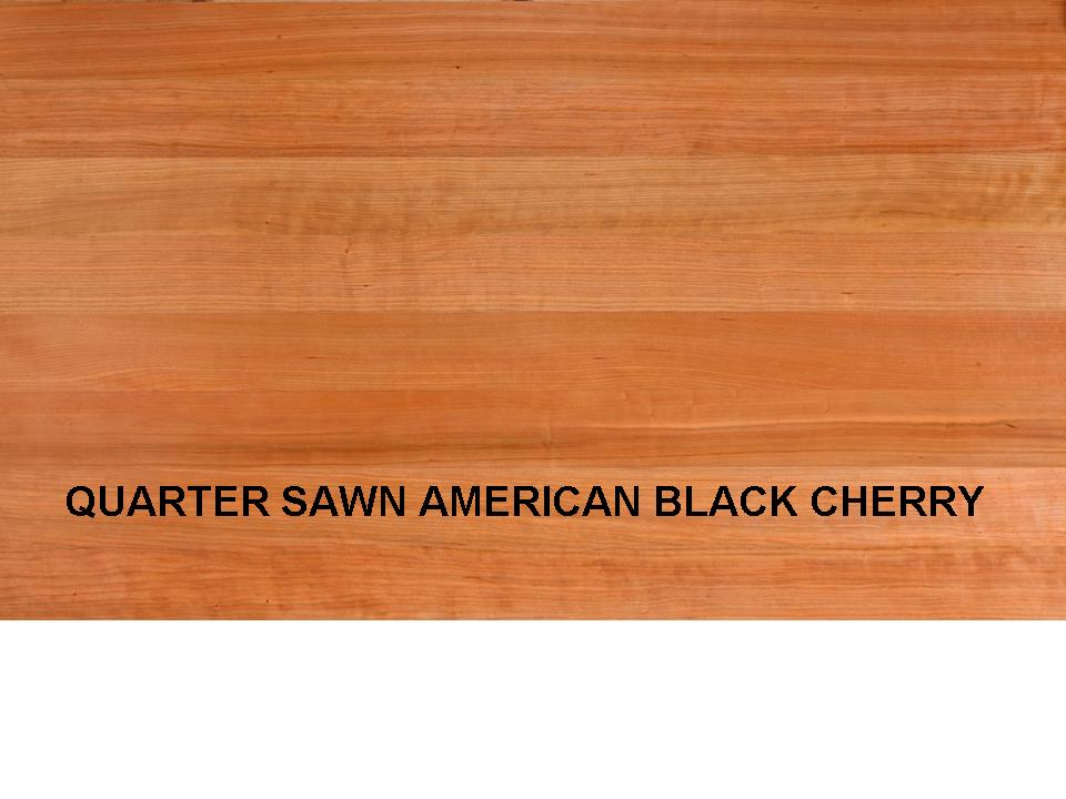 QUARTER SAWN AMERICAN BLACK CHERRY