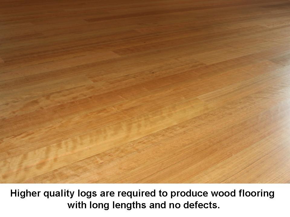 long lengths take better logs